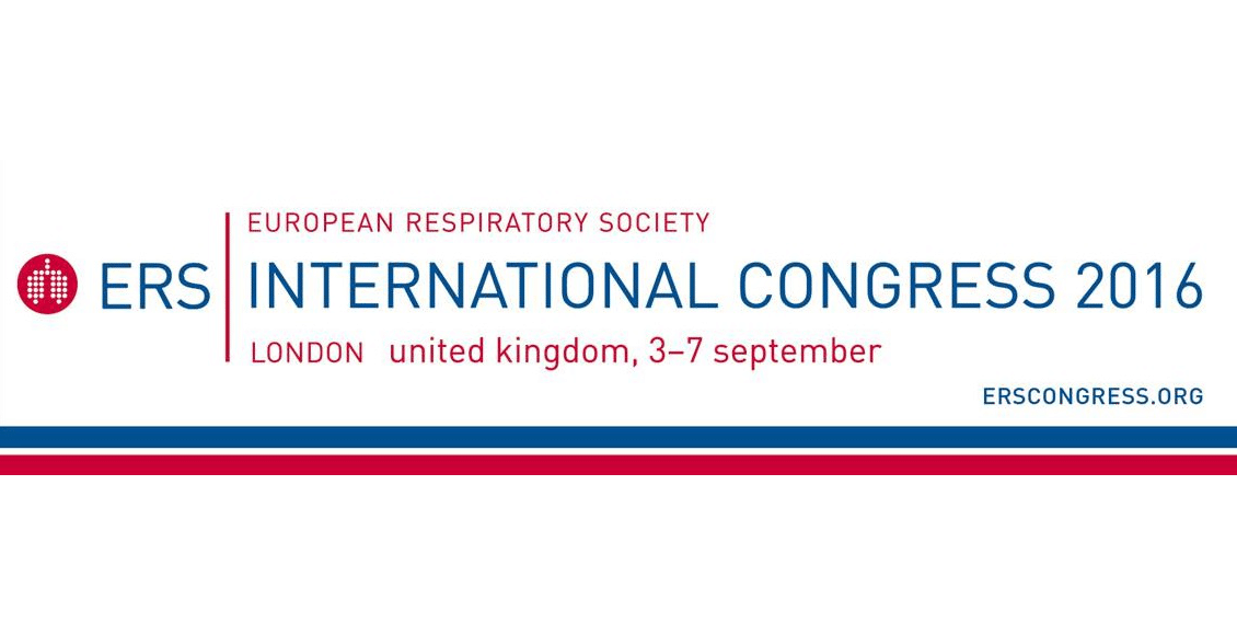 Two posters accepted for ERS Congress 2016 in London